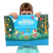 Benefitto mágneses tábla figurákkal a játékos neveléshez