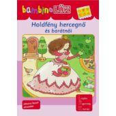 Holdfény hercegnő és barátnői LÜK Bambino füzet (LDI-133) (DI)