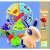 Forma tapintós játék Djeco Tactilo loto - DJ8135 (BO)