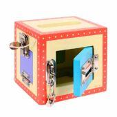 Záras nyitogatható játék doboz (Bigjigs fajáték) BJ447 (BI)