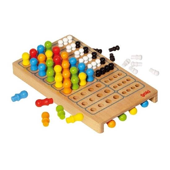 Goki mesterlogika társasjáték fából - 56708 (HO)
