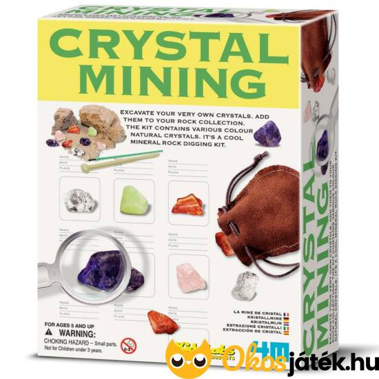 4M Crystal Mining Kristálybányászat 3252 (RE)