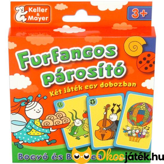 Furfangos párosító Bogyó és Babóca kártyajáték - KellerMayer (KM)