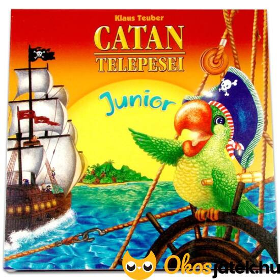 Catan junior társasjáték gyerekeknek - Piatnik (PI)