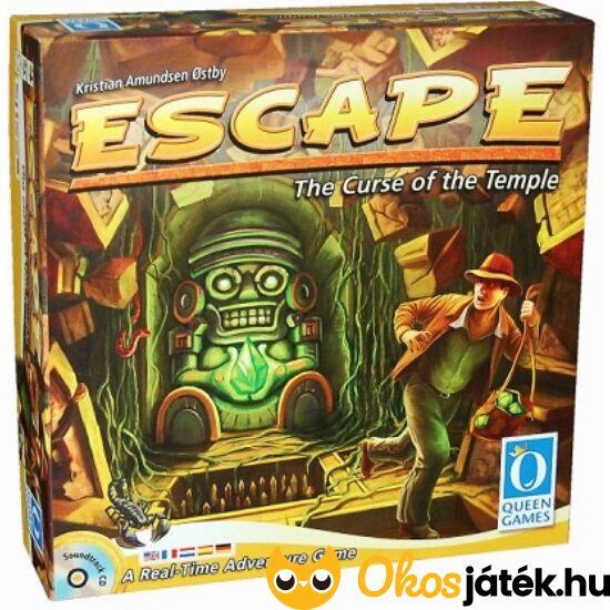 Escape Indiana Jones témájú együttműködős társasjáték - Piatnik (PI)