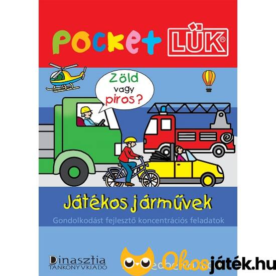 Játékos járművek + Alaplap  Pocket LÜK LDI906/A (DI)