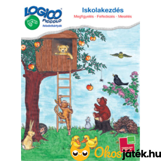 LOGICO Piccolo 3303 - Iskolakezdés: Megfigyelés - Felfedezés - Mesélés (3303) (TF)