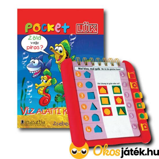 Víz alatti kalandok Pocket LÜK füzet + Alaplap LDI907/A (DI)