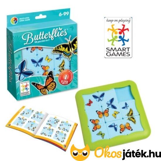 Pillangós tologatós puzzle logikai játék Butterflies - Smart Games kirakó (GA)