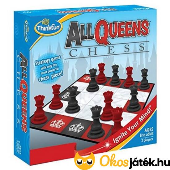 All Queens Chess ThinkFun logikai társasjáték (GE)